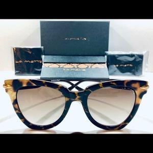 c869b567f95 La Matta Sunglasses Havana Brown Gradient New 54mm